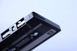 Audiokassette Hintergrundbild;