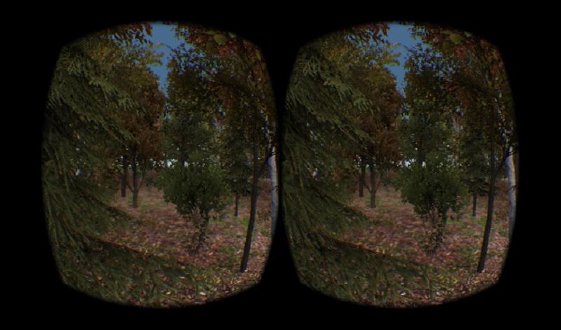 Tree Simulator Treeloaded Oculus Rift