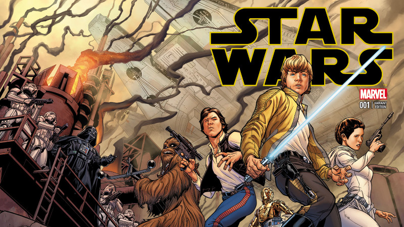 Star Wars 1 cover Quesada