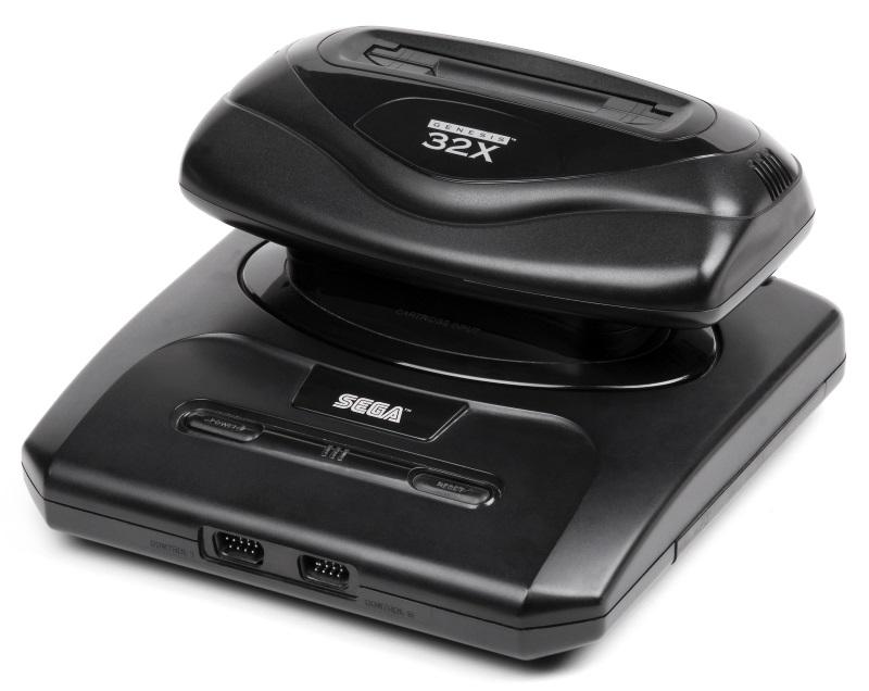 Sega-Genesis-Model2-32X