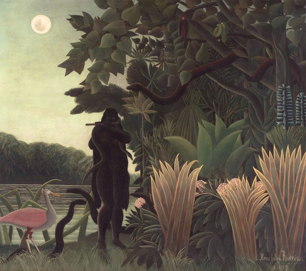 Incantatrice-di-serpenti-Charmeuse-de-serpents-1907-Henri-Rousseau