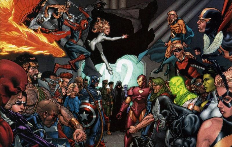 Civil War lineup