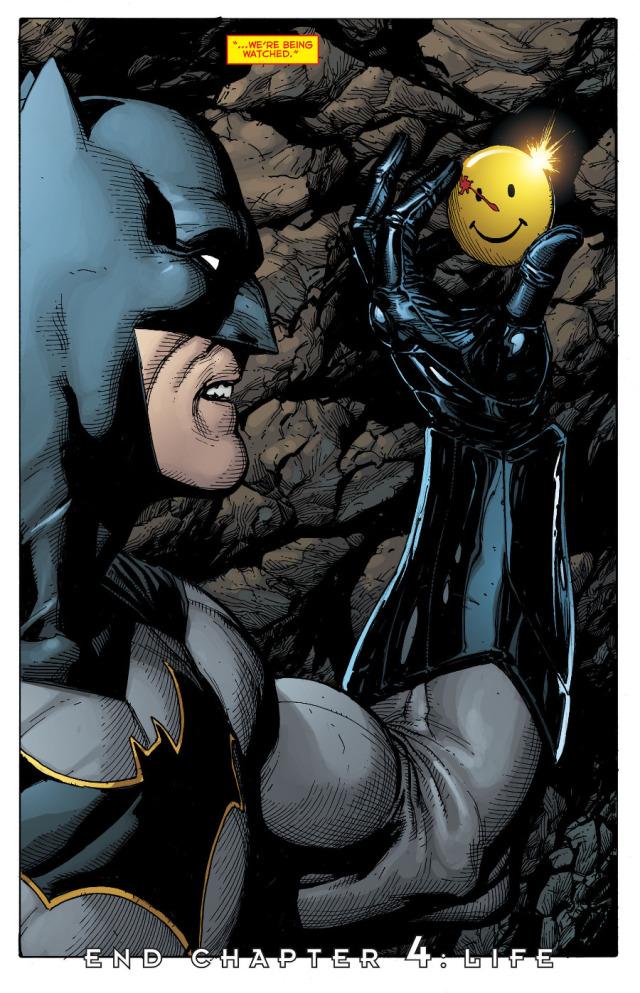 batman rebirth watchmen