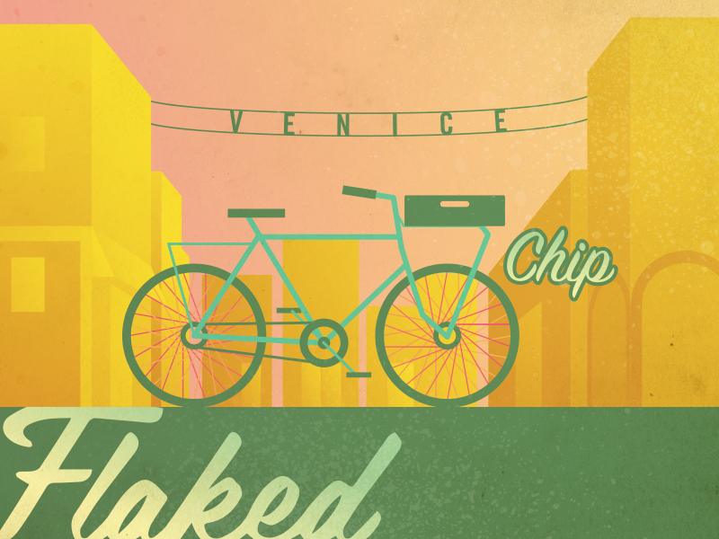 flaked chip