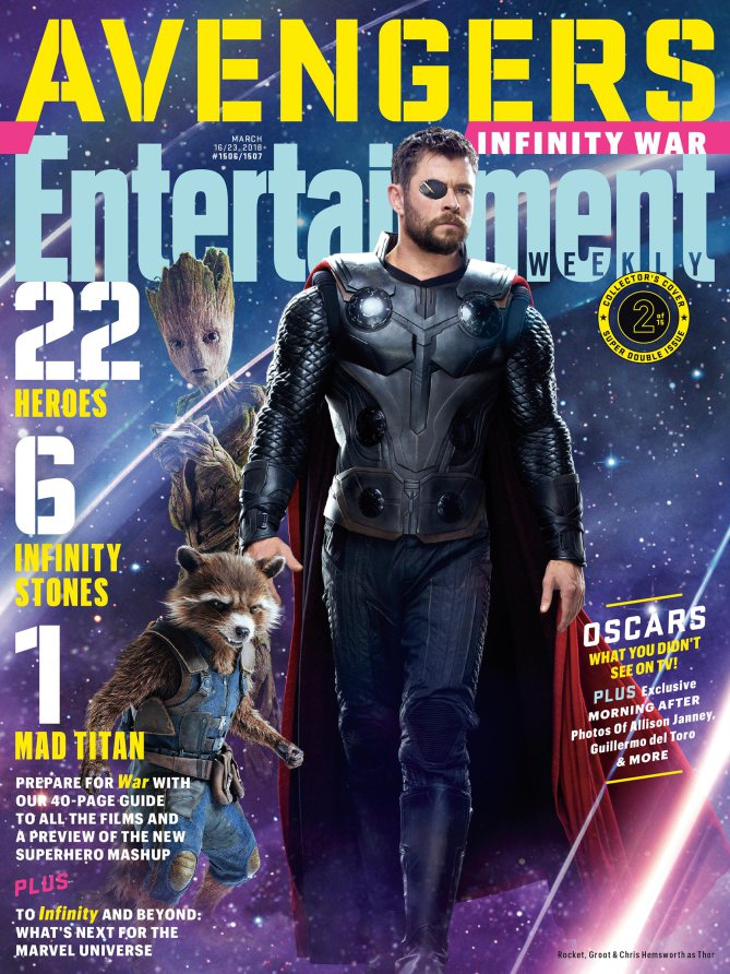 tutte le cover e le nuove immagini di the avengers  infinity war dell u0026 39 entertainment weekly