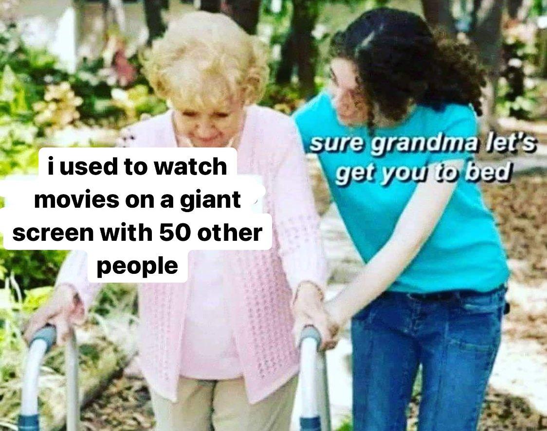 meme 2020 cinema