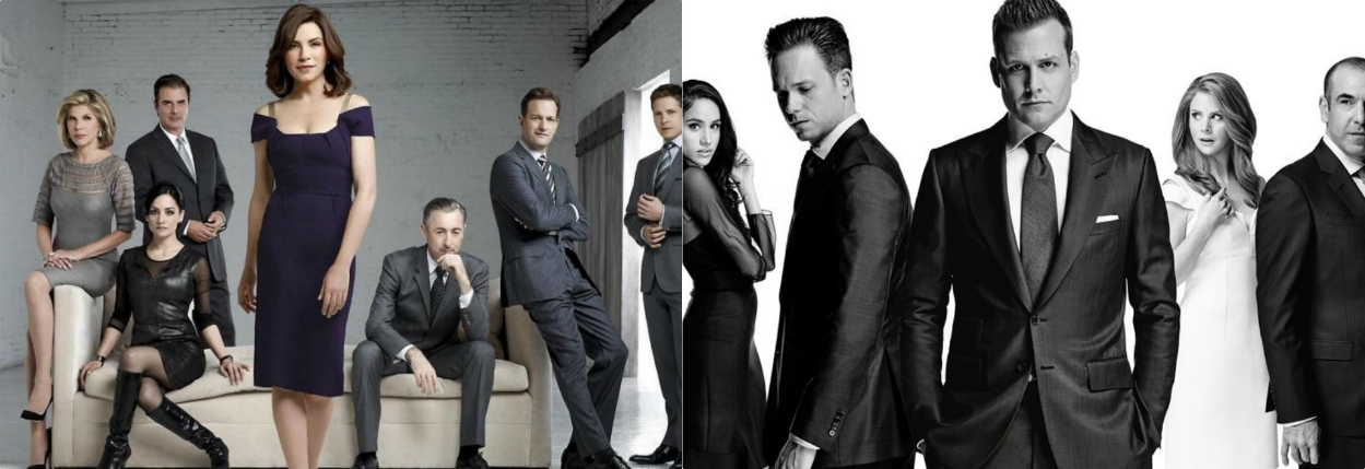 crossover the good wife suits
